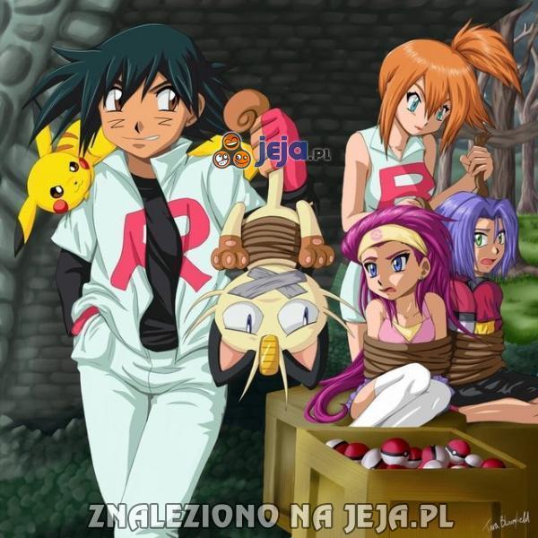 Pokemon - mała zamiana ról