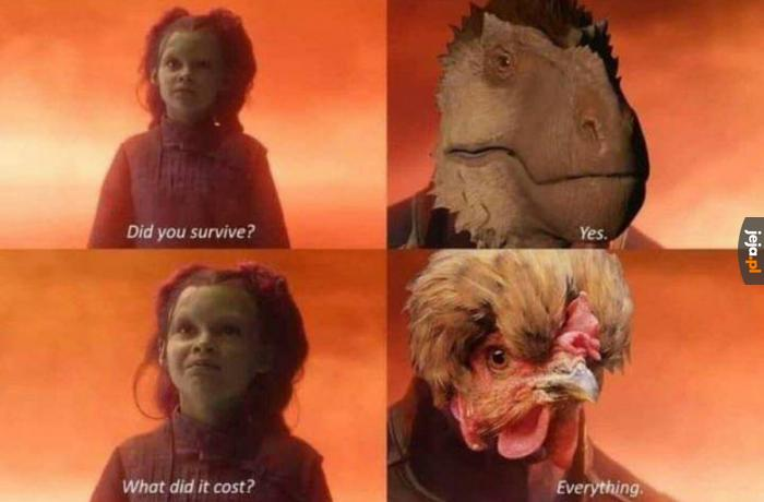 Dinozaury już nie są tak majestatyczne