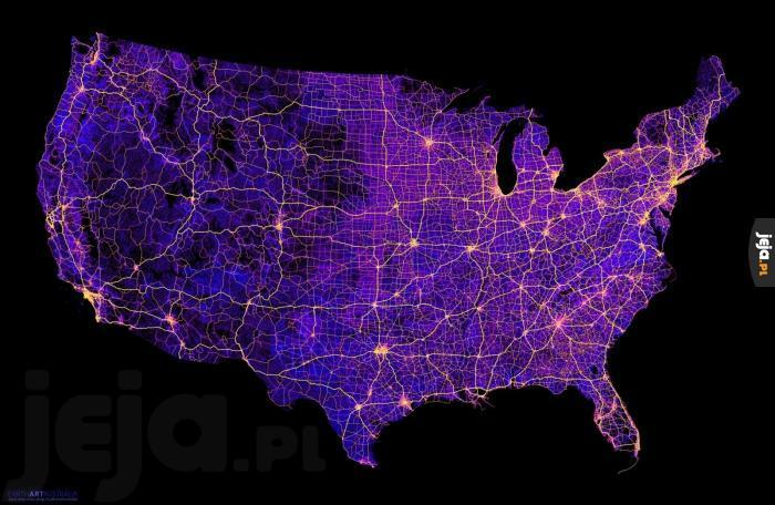 Wszystkie drogi w Stanach Zjednoczonych