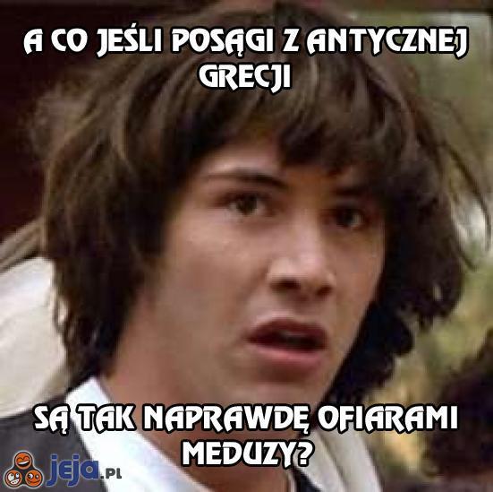A co jeśli posągi z antycznej Grecji...