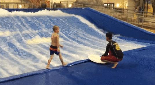 Ty to nazywasz surfowaniem? Ja ci pokażę, jak to się robi!