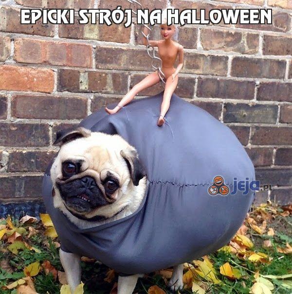 Epicki strój na Halloween