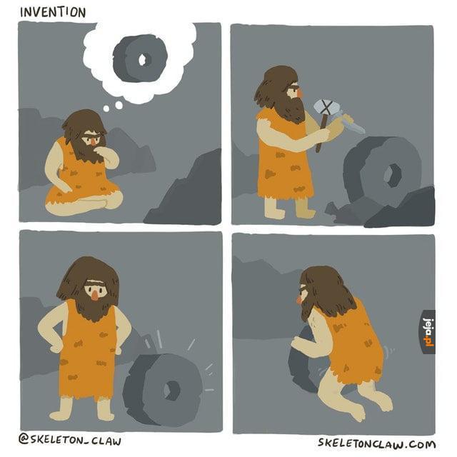 Jak wynaleziono... koło?