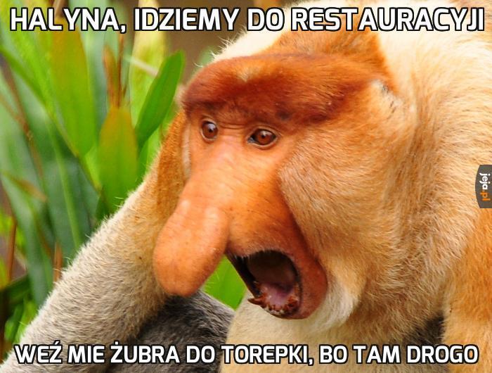 Janusz w restauracji