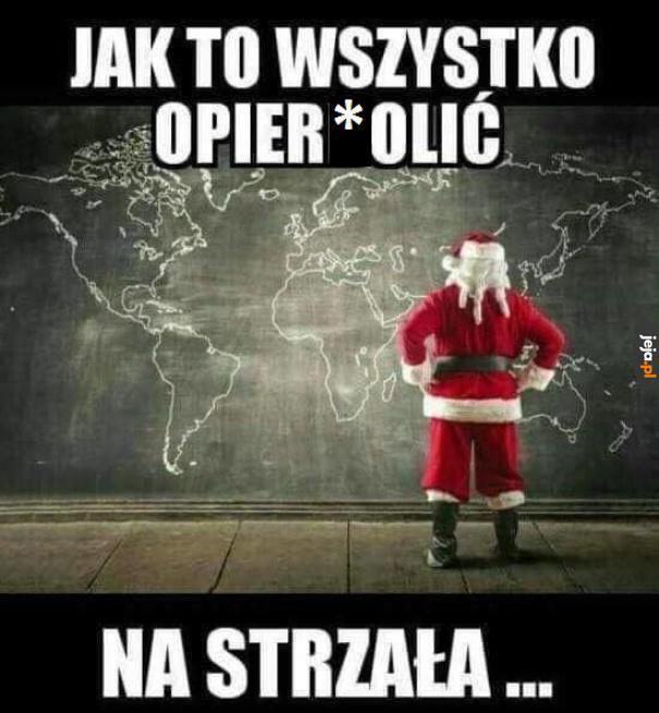 Gdyby św. Mikołaj pracował jak typowy kurier