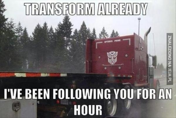 Transformuj się w końcu!