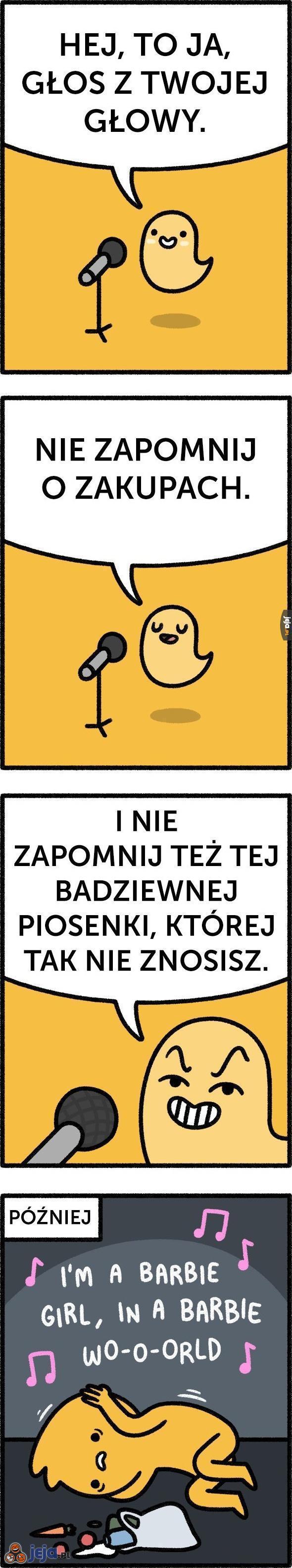 To ja! Głos z Twojej głowy!