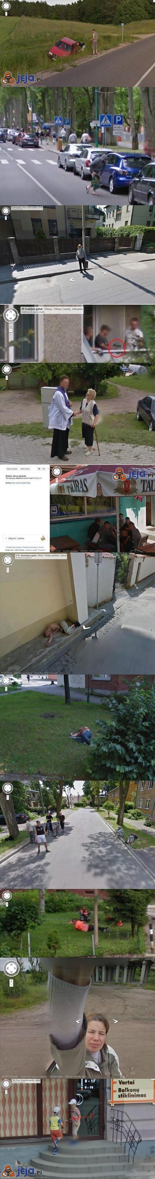 Google Maps odwiedza... Litwę