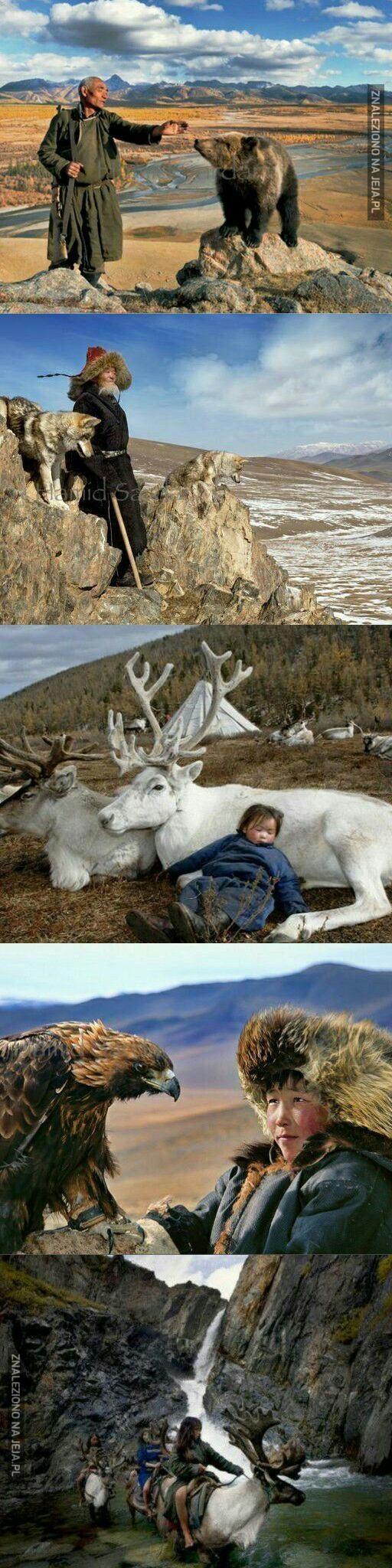Plemię blisko z naturą