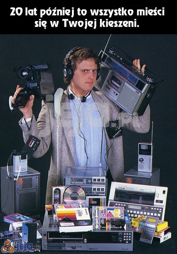 Tak rozwinęła się technologia od lat `90