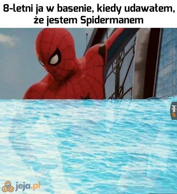 Jak prawdziwy pająk!