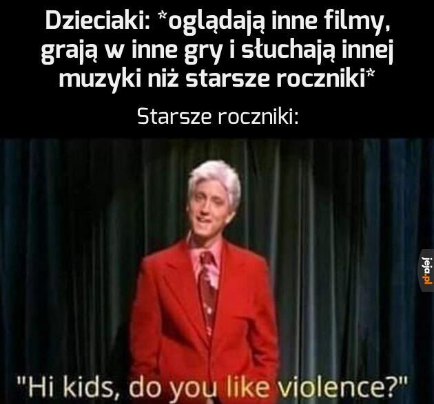 Przemoc!