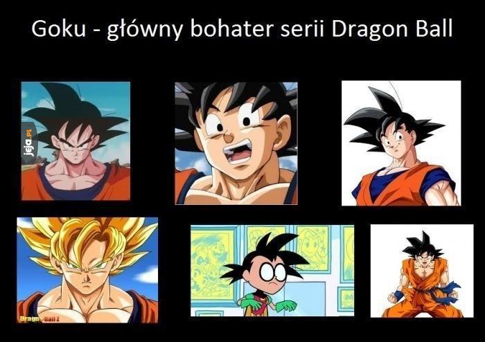 Kolażyk z Goku
