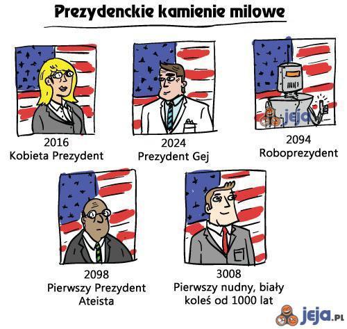 Prognozy prezydenckie dla USA