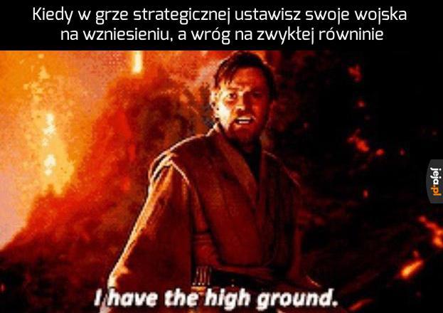 Nie doceniasz mojej taktyki