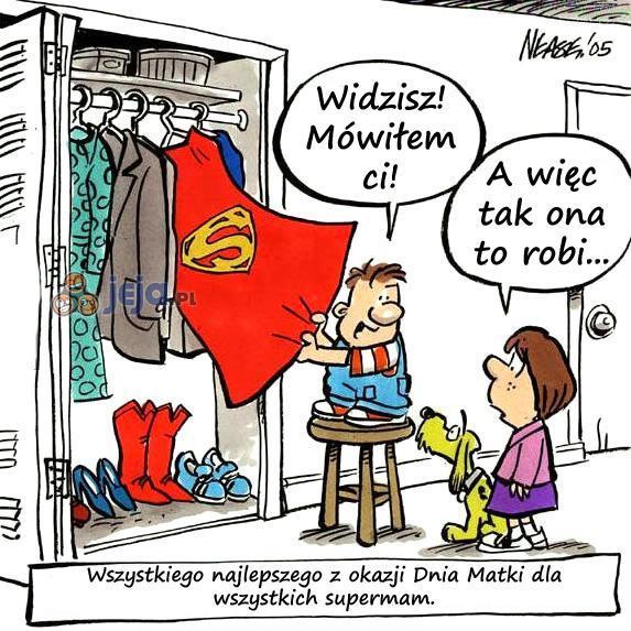 Każda mama ma coś w sobie z bohaterki