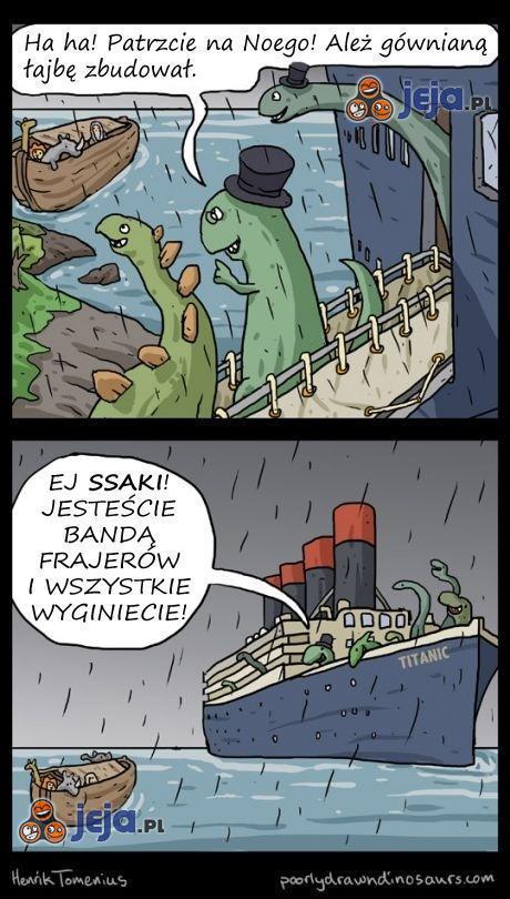 Jak wyginęły dinozaury