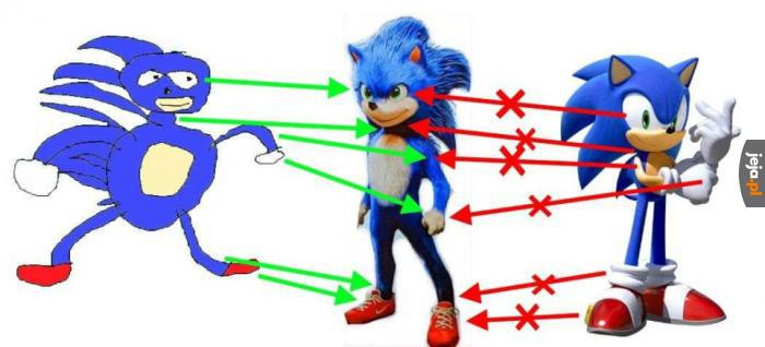 Jak powstał filmowy Sonic
