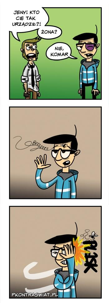 Groźny komar