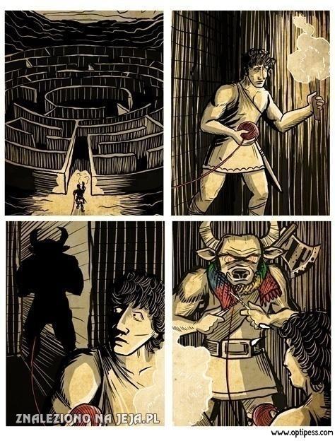Biedny Tezeusz