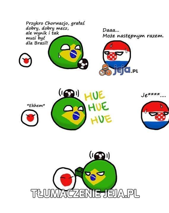 Brasil już i tak wygrała