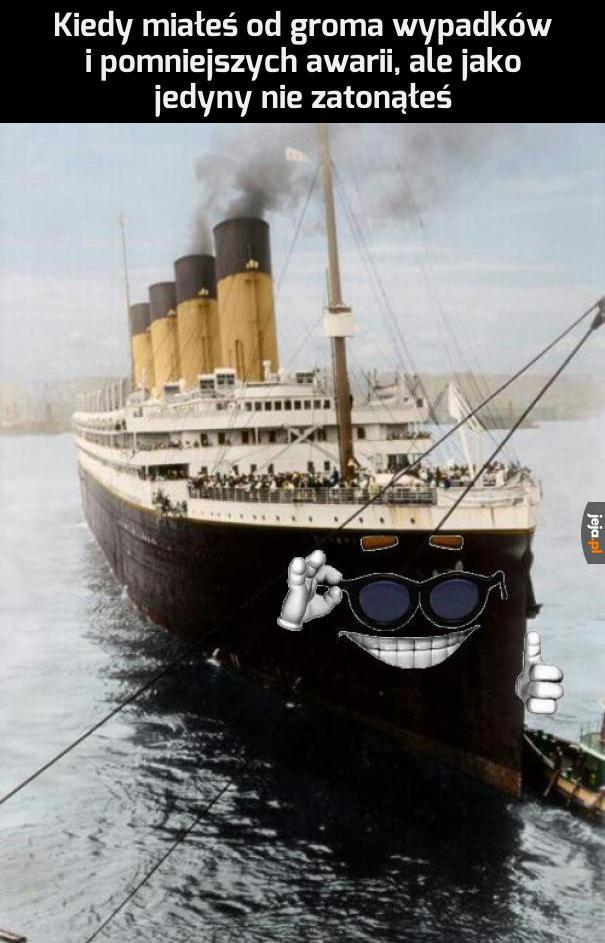 Przed państwem - RMS Olympic