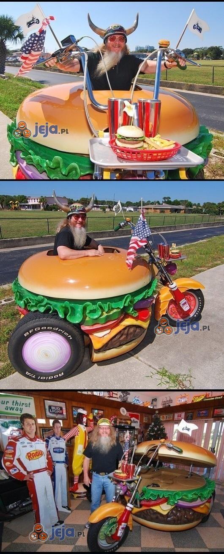 Motocykl, wersja: Ameryka!