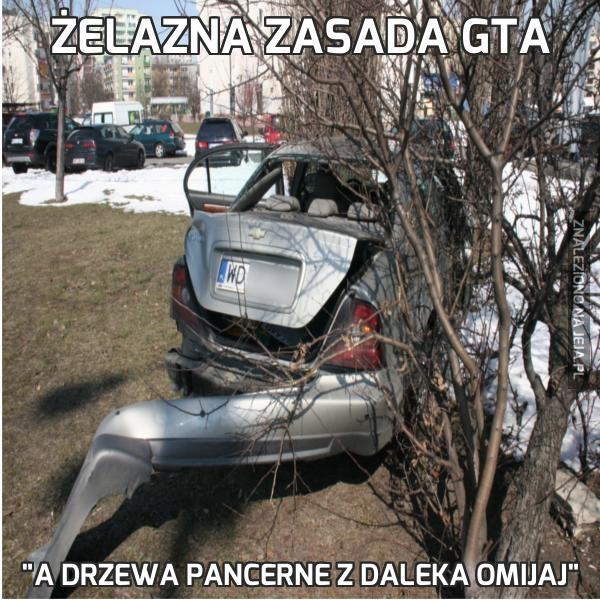 Żelazna zasada GTA