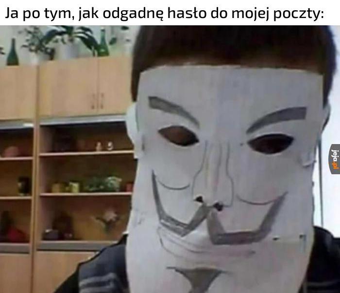 Będę wielkim hakerem