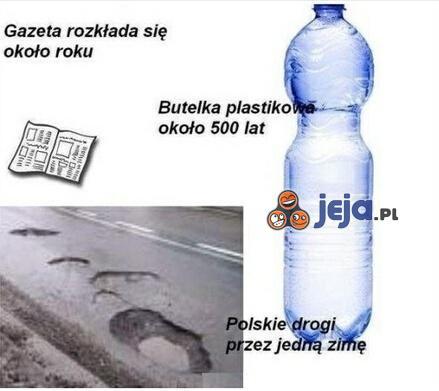 Polskie drogi - najekologiczniesze na świecie