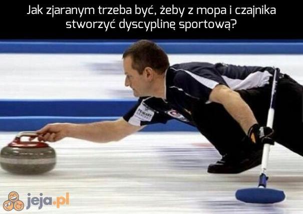 Tak powstał curling
