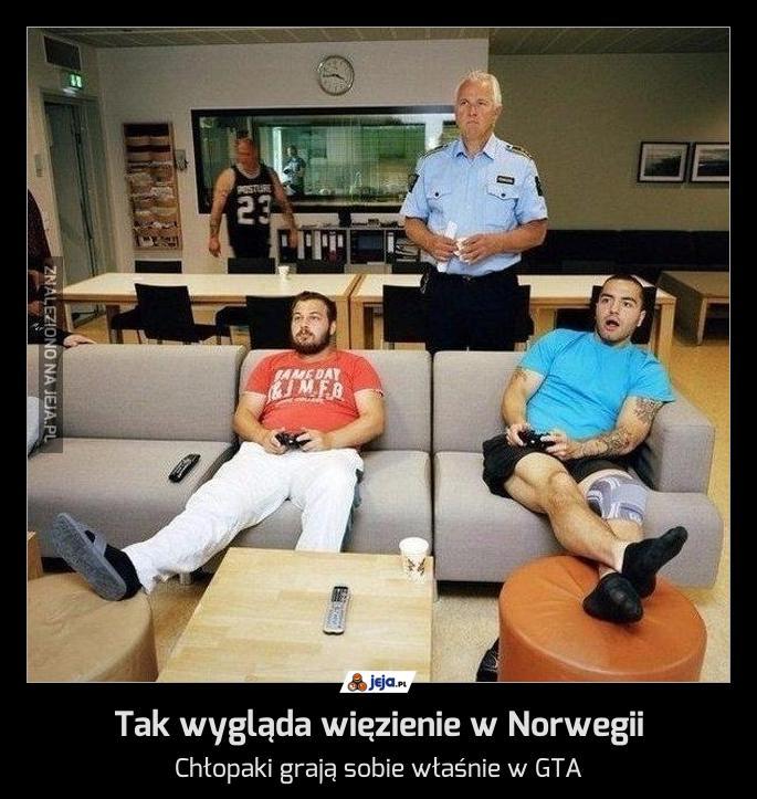 Tak wygląda więzienie w Norwegii