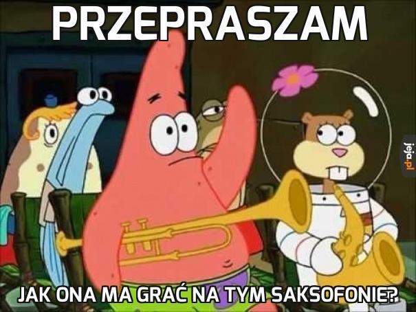 Słabo z logiką w Spongebobie