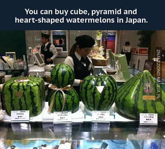 Japońskie arbuzy