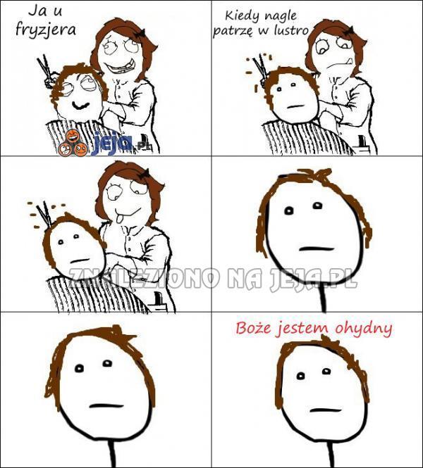 Za każdym razem, gdy ścinam włosy