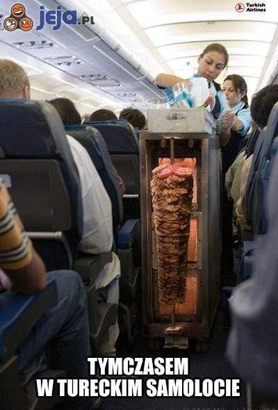 Tymczasem w tureckim samolocie