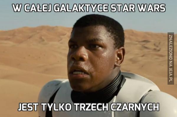 W całej galaktyce Star Wars