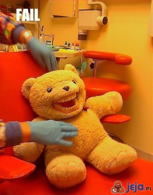 Misiu u dentysty