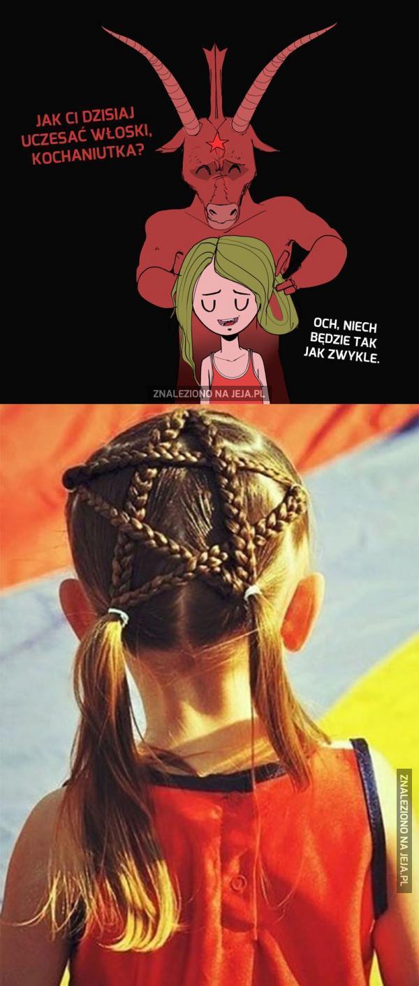 Piękna fryzurka, koleżanki będą zazdrościć...