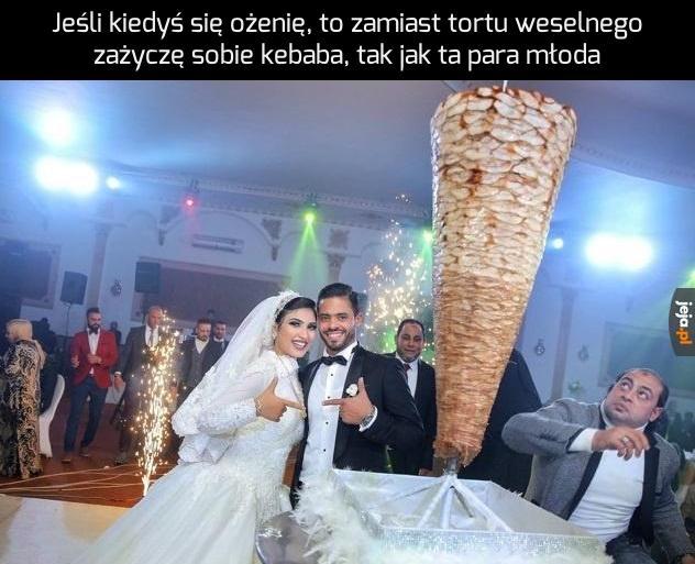 Turecki tort weselny