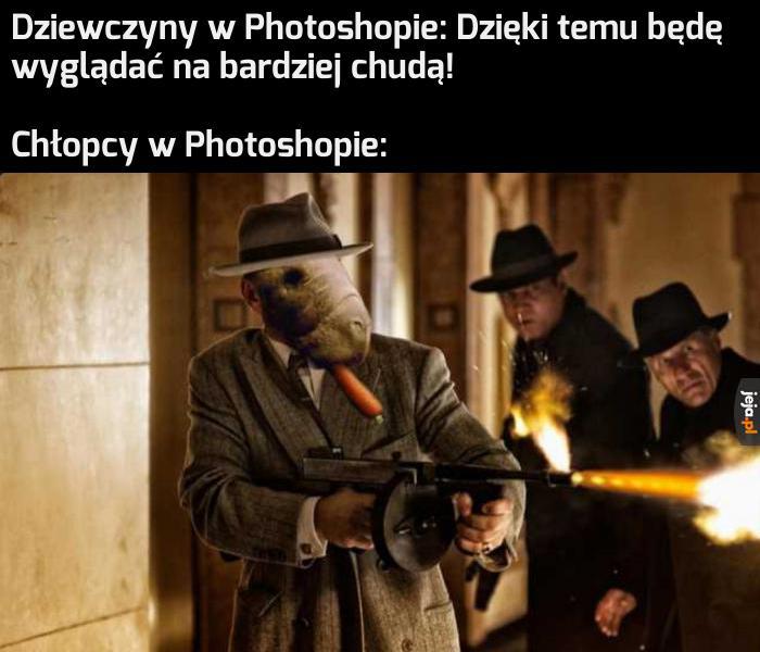Fotomanipulacje, tratatatata!