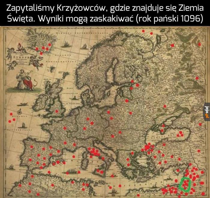 Jerozolima musiała być w Polsce, przecież Jezus i Maryja są Królem i Królową Polski