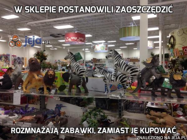 W sklepie postanowili zaoszczędzić
