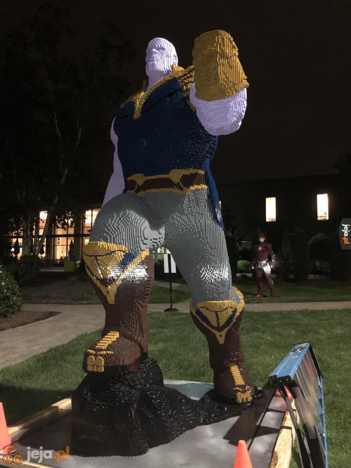 Thanos z Lego