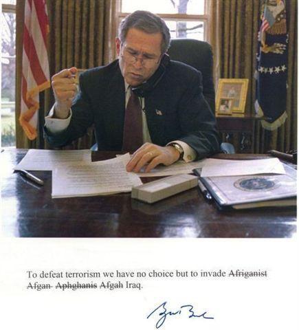 Przemówienie Busha