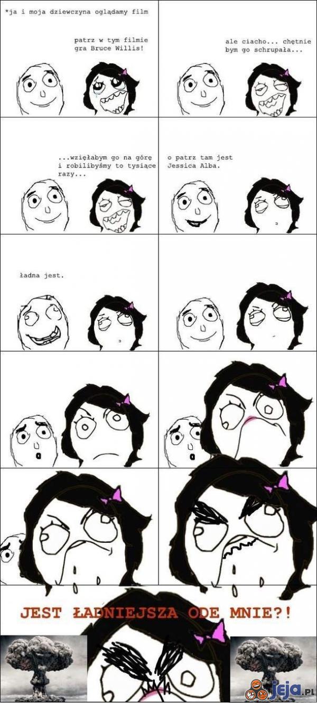 Oglądając film z dziewczyną