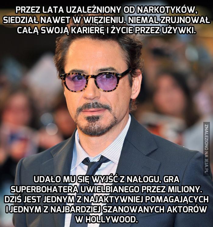 Robert Downey Jr, proszę Państwa!
