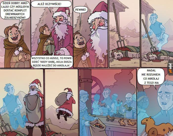 Elfy to bajeczka zmyślona przez Coca Colę
