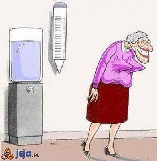 Dowcipna staruszka
