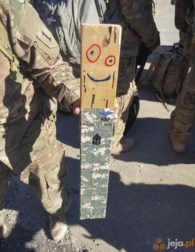 Deska poszedł do wojska